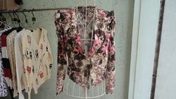 Ảnh số 80: áo vest hoa nỉ - Giá: 150.000