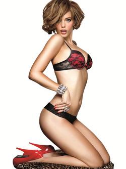 Ảnh số 28: Áo lót nữ LaSenza - Hello Sugar by LaSenza ren đỏ siêu đẩy Double Push Up Bra - Giá: 849.000