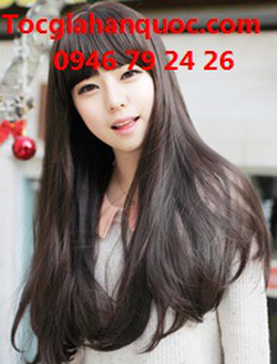 Ảnh số 92: Tóc bộ có da đầu Hàn quốc - Giá: 750.000