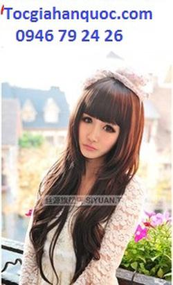 Ảnh số 84: tóc xoăn nhẹ đuôi mái bằng  xinh Hàn quốc - Giá: 800.000