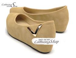 Ảnh số 75: Giày búp bê bánh mì Alibaba chữ V - Giá: 240.000