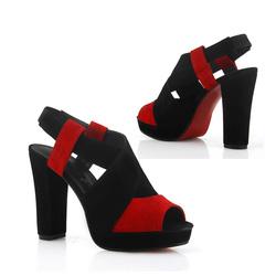 Ảnh số 44: Giày cao gót da lộn GCG044 - Giá: 520.000