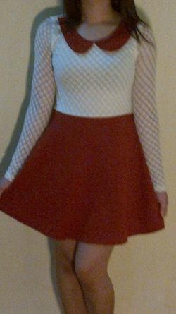 Ảnh số 9: váy màu bã trầu - Giá: 165.000