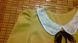 Ảnh số 13: váy vàng thắt nơ - Giá: 165.000