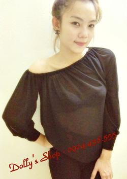 ?nh s? 8: áo voan cổ chun - Giá: 160.000