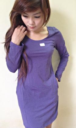 ?nh s? 49: váy áo thun - Giá: 150.000