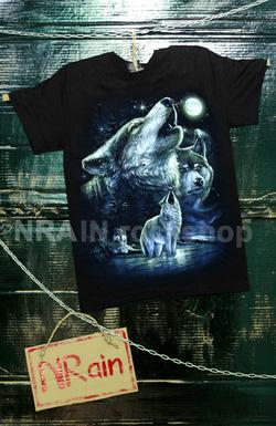 ?nh s? 32: áo phông nam mẫu sói - Giá: 220.000