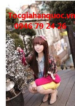 ?nh s? 20: Korea - tóc thẳng mái bằng Tóc có da đầu chịu nhiệt - Giá: 750.000