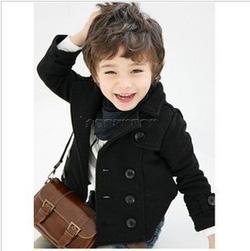 Ảnh số 26: Áo khoác đen bé trai - Giá: 215.000