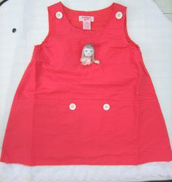 Ảnh số 44: Đầm đỏ búp bê - Giá: 125.000