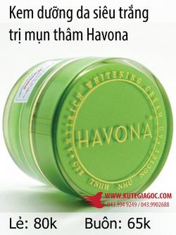 Ảnh số 49: Kem dưỡng da siêu trắng trị mụn thâm Havona - Giá: 39.949.249