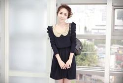 Ảnh số 18: Váy thu cổ ren (RX90) - Giá: 185.000