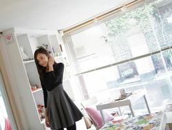Ảnh số 26: Váy công sở dài tay dáng xòe (MS: RX62) - Giá: 255.000