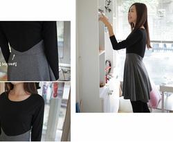 Ảnh số 29: Váy công sở dài tay dáng xòe (MS: RX62) - Giá: 255.000