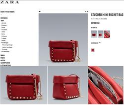 Ảnh số 25: Zara studded mini bucket bag - Giá: 680.000