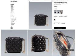 Ảnh số 49: Zara nạm đinh hàng Au tag mác túi giấy đầy đủ - Giá: 720.000