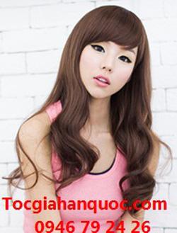Ảnh số 51: Tóc dành cho Cô Dâu xinh xoăn nhẹ Hàn quốc - Giá: 800.000