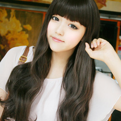 ?nh s? 40: Korea - xoăn nhẹ mái bằng Tóc có da đầu chịu nhiệt - Giá: 800.000