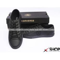 Ảnh số 64: Giày Converse slim da đen full - Giá: 299.000