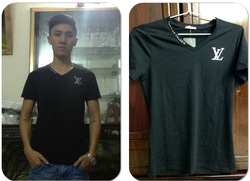 ?nh s? 6: áo phông đen VL - Giá: 130.000