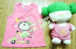 Ảnh số 47: Áo BL khỉ hồng - Giá: 60.000