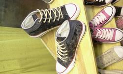 Ảnh số 78: Giày bata cao cổ bò - Giá: 230.000