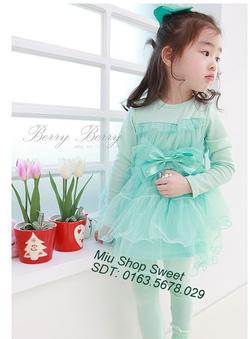 Ảnh số 4: Váy xuất khẩu ren hồng phấn - Giá: 170.000