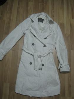 Ảnh số 11: Áo măng tô dạ trắng Korea new 90% size M 600k - Giá: 600.000