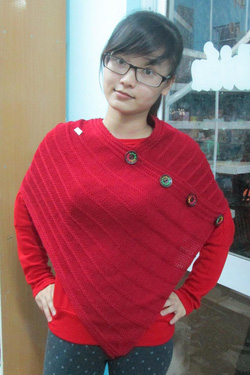 ?nh s? 7: áo len vạt xéo - Giá: 130.000