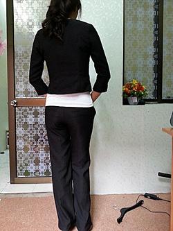 Ảnh số 7: Bộ vest kiểu nữ đen - Giá: 900.000