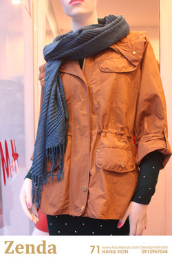 ?nh s? 7: Áo khoác dài xuất xịn Massimo Dutti - Giá: 525.000