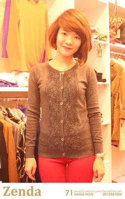 ?nh s? 11: Áo len nữ mỏng - Giá: 255.000