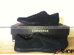 Ảnh số 77: Giày Converse Da Lộn Đen - Giá: 399.000
