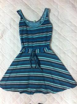 Ảnh số 2: váy xanh - Giá: 120.000
