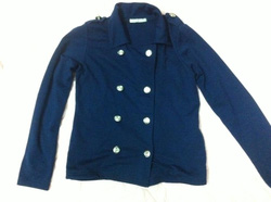 Ảnh số 10: áo vest mỏng xanh - Giá: 150.000