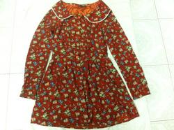 Ảnh số 22: váy hoa cam - Giá: 120.000