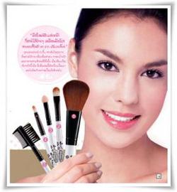 Ảnh số 49: Mistine Classy makeup brush set - Giá: 130.000