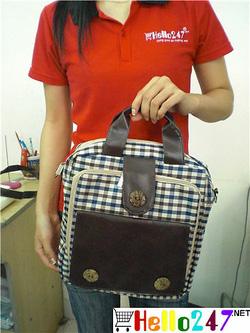 Ảnh số 9: Ba lô+túi đeo Caro đi học đi chơi - Giá: 130.000