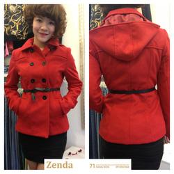 ?nh s? 35: Áo dạ đỏ MNG mới về siêu đẹp - Giá: 695.000