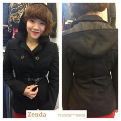 ?nh s? 36: Áo dạ đen MNG mới về siêu đẹp - Giá: 695.000