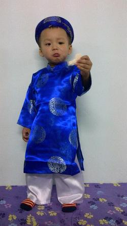 Ảnh số 1: áo dài khăn đóng - Giá: 190.000
