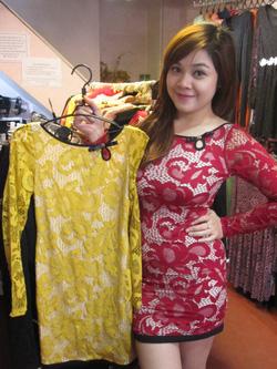 ?nh s? 55: Váy ren - Giá: 565.000