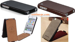 Ảnh số 11: Bao da Iphone 5 cao cấp Hoco: - Giá: 355.000