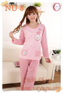 Ảnh số 20: Đồ mặc nhà, pijama, đồ ngủ bông - Giá: 270