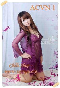 Ảnh số 57: Set Áo choàng + Váy ngủ - Giá: 240.000