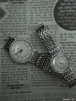 ?nh s? 7: Đồng hồ,Piaget cho nữ, nam đính đá sáng lung linh,kính saphia,máy nhật - Giá: 600.000