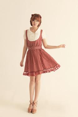 Ảnh số 53: Váy chân ren kèm đai - Giá: 320.000