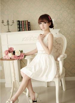 Ảnh số 81: Váy đai ren - Giá: 205.000