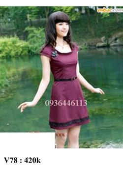 Ảnh số 78: Váy đầm , đủ size - Giá: 420.000