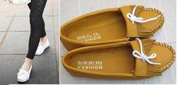 ?nh s? 4: Giày mọi nơ tua rua (S038)- 220.000VNĐ giảm giá còn 140k - Giá: 140.000